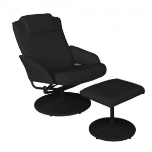 relaxsessel schwarz massagesessel test. Black Bedroom Furniture Sets. Home Design Ideas